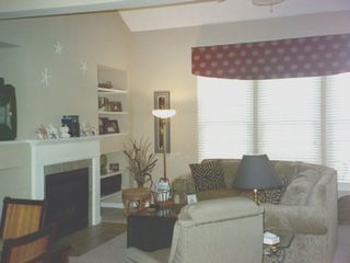 Bethany Beach condo photo - Additional view of Living Room w Fireplace