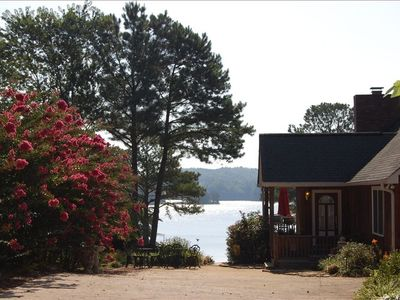 LUXURIOUS LAKEFRONT HOME WITH UNOBSTRUCTED BEAUTIFUL VIEWS OF LAKE LANIER