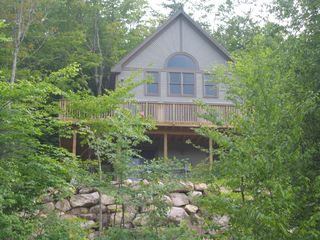 View of home from below - Bartlett house vacation rental photo