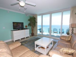 "Gulf Shores condo photo - Living room area with 41"" TV/DVD"