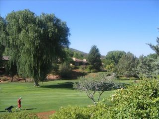 Sedona townhome photo - play on the beautiful executive course for only $15