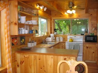 Newfound Lake house photo - Fully equipped kitchen