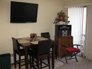 Osage Beach condo photo - Flat screen TV, DVD/VCR and stereo.