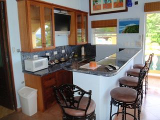Rincon villa photo - Main Villa upstairs master wetbar