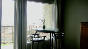 Galveston condo rental - With a glass of wine in hand, enjoy the amazing view of the gulf here.