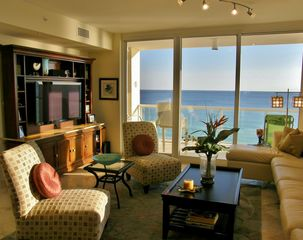 Navarre Beach condo photo - Relax in style.