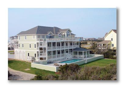 New 10 bedroom hatteras vacation home across vrbo for 9 bedroom vacation rentals