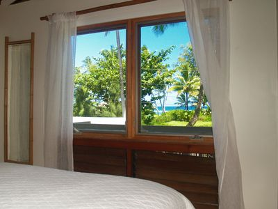 Hanalei house rental - Upstairs - bedroom with a view!