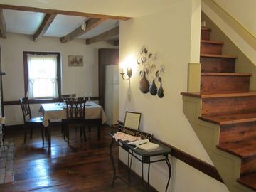 Foyer leading to Dining Room