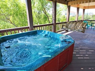 Corolla house photo - Hot tub with porch swing