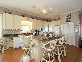 Fully furnished kitchen w/all new appliances. 10' granite island for meal prep - Grayton Beach house vacation rental photo