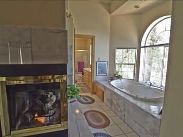 For your pleasure, master bath