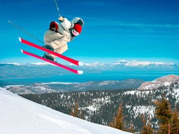 Enjoy world-class skiing at nearby Heavenly Ski Resort.