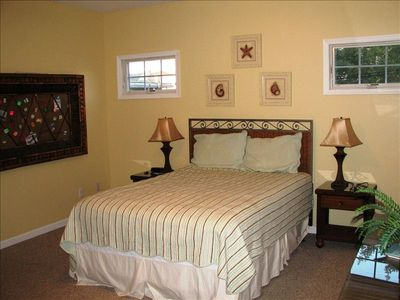 Relax in the beautiful Master Suite on this top of the line queen size bed!