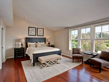 LARGE MASTER SUITE WITH OCEAN VIEW AND VIEW OF THE CANYON