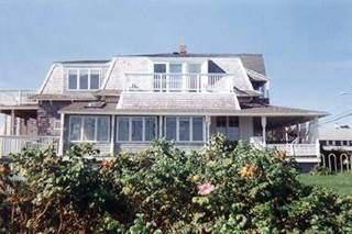 Oak Bluffs cottage rental - The long side of house faces the ocean