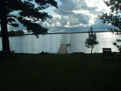 Garrison house rental - Private Dock and great lake