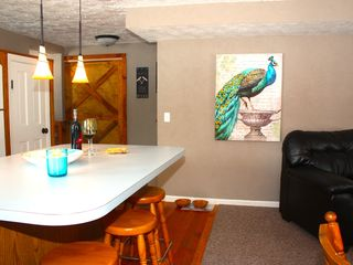 Crystal Mountain, Thompsonville lodge photo - Custom wall can be opened to double the amenities.