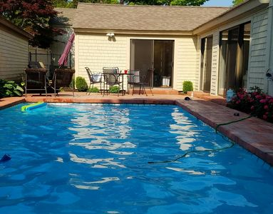 Sunny Spacious Pool Villa (The Mews) On the 15th Hole New Seabury Golf Course