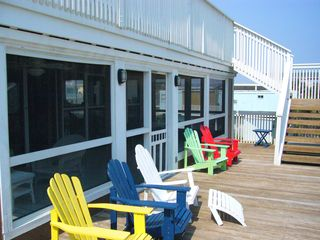 Galveston house photo - Relax in the sun on one of two decks