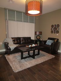 Green Valley townhome rental - LIVING ROOM - Brand New Hardwood Floors