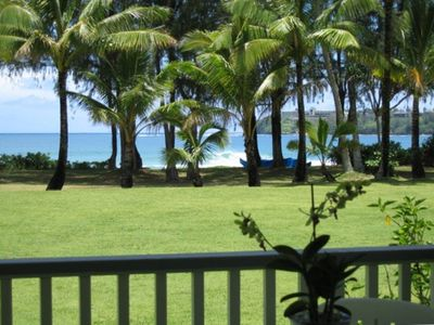 View of Hanalei Bay from the Lanai