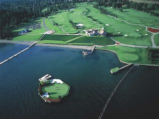 Coeur d 'Alene house photo - Famous Floating Green