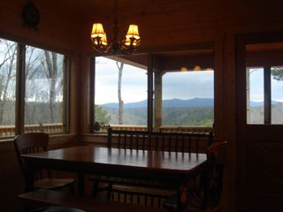 Ellijay cabin photo - Every window in our cabin HAS THIS VIEW!