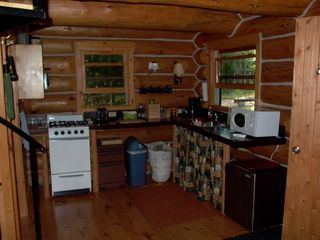 Mackinaw City cabin photo - Kitchen area