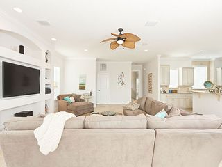 "Palm Coast house photo - 2nd floor living room has 60"" HDTV & views"