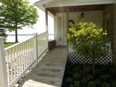 Lovely waterfront home with pier.  Wonderful quiet getaway!
