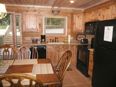 Kitchen w/ full amenities.