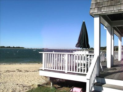 Deck on bay front