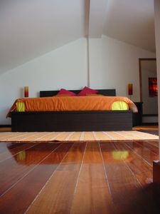 Vila Praia de Ancora villa rental - The master bedroom on the top floor