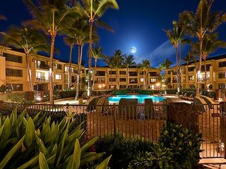Kahuku - Turtle Bay condo photo - Ocean Villas at Night