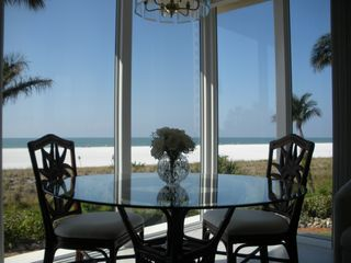 Gulfview Club condo photo - Like sitting on the beach when in your dining area
