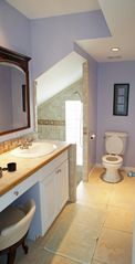 Great Exuma house photo - Private bath Tranquility Room with sunken shower