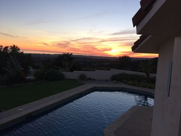 Hope Ranch house rental - Sunset On Valentines Day