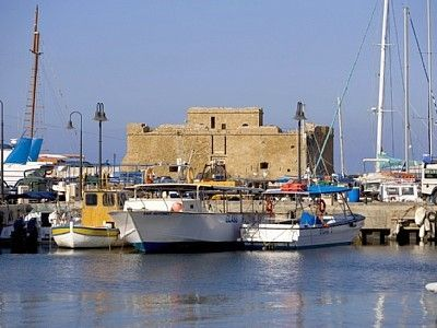 Paphos Harbour and Castle
