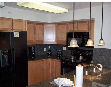 Ski home for lunch and save $$$ with a fully equipped kitchen.