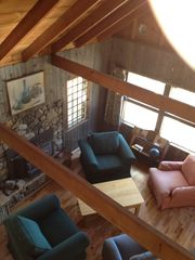 Lake Placid cabin photo - View from the Loft.