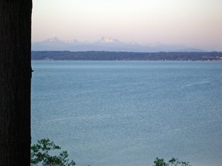 Camano Island house photo - Cascade Mountain Range in the Distance