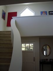 Laguna Beach house photo - Entry & Stairs from Main Level to Upper Level