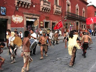 The birthday of San Miguel is the last week of September; music and parades!