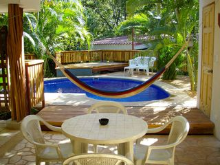 Tamarindo studio photo - Large area of covered outdoor living space.