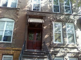 Brooklyn apartment photo - Brooklyn Historic Brownstone:Main Entrance: Custom made doors by owner