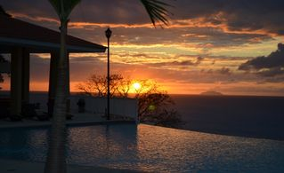 Aguadilla condo photo - You could be here - reserve your view of this sunset at 'The Corner Penthouse'