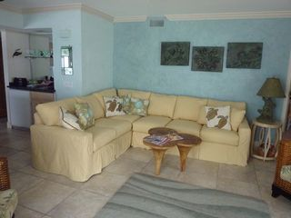Mainsail Resort condo photo - Sectional Sleeping Sofa in Living Area