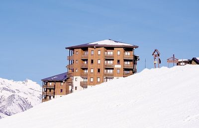 Apartment 4/5 people on skis 'Les MENUIRES' residence on Nécou