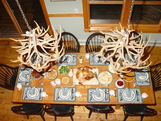 Lake Placid chalet photo - Dining for 10